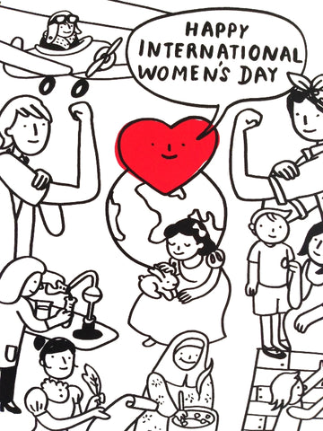 The Local Calendar - International Women's Day