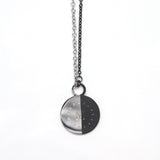 Arial II Necklace Black/Silver by Imperial United