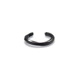 Curve I Ring Black by Imperial United