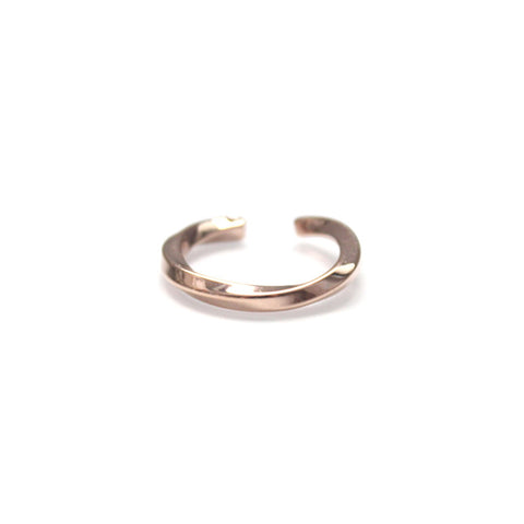 Curve I Ring Rose Gold by Imperial United