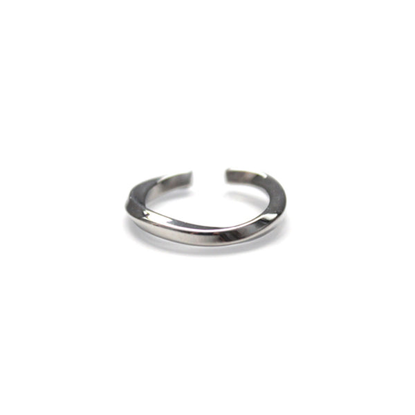 Curve I Ring Silver by Imperial United