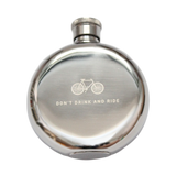 3oz 'Don't Drink and Ride' Whisky Flask by Izola