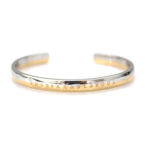 Futura Bracelet Silver/Gold by Imperial United