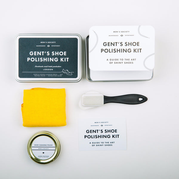 Gent's Shoe Polishing Kit | ITALIC & BOLD