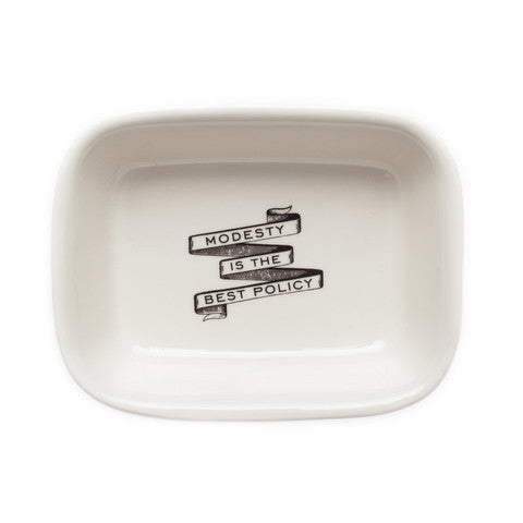 Powder Room Soap Dish by Izola | ITALIC & BOLD