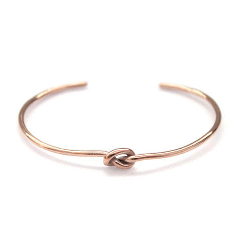 Knot Bracelet Rose Gold by Imperial United