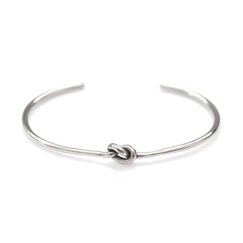 Knot Bracelet Silver by Imperial United