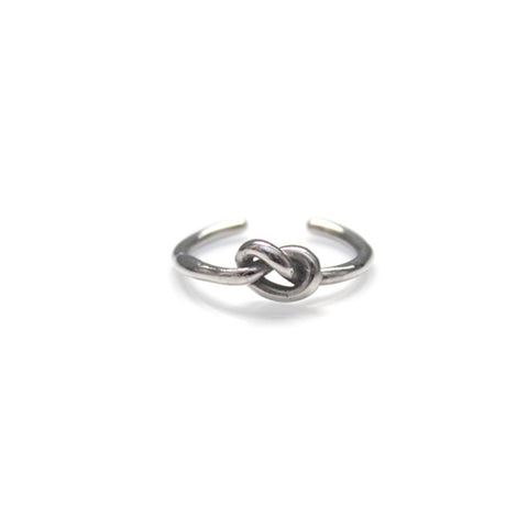Knot Ring Silver by Imperial United