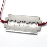Razor Bracelet Silver by Imperial United Close Up