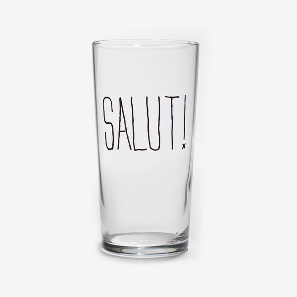 Salut! Pint Glass by Izola | ITALIC & BOLD