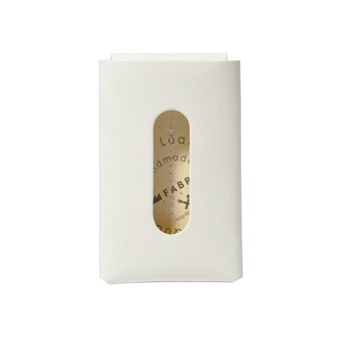 Card Case 10/20 White