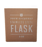 3oz 'Salut' Whisky Flask by Izola, Packaging