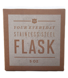 5oz 'Neat' Whisky Flask by Izola, Packaging