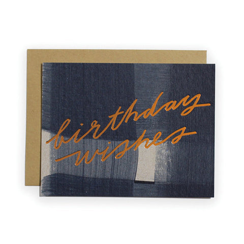Birthday Wishes Card by Moglea | ITALIC & BOLD