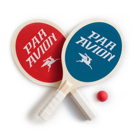 Par Avion Paddle Ball Set by Izola | ITALIC & BOLD