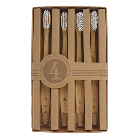 'Months' Toothbrush Set by Izola