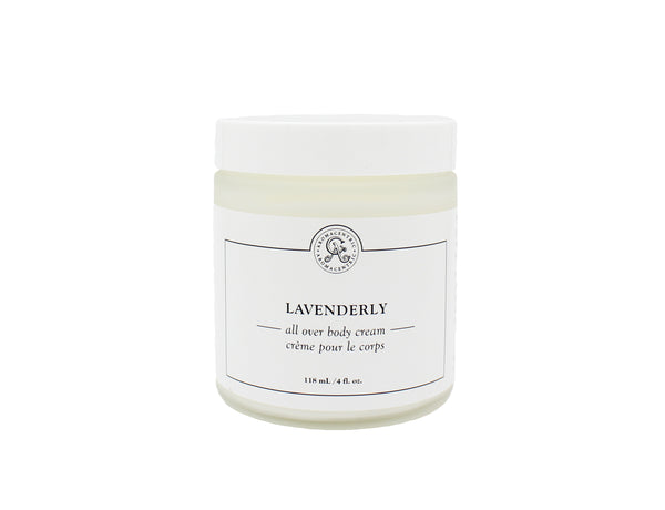 Lavenderly - Calming all over body lotion with French lavender
