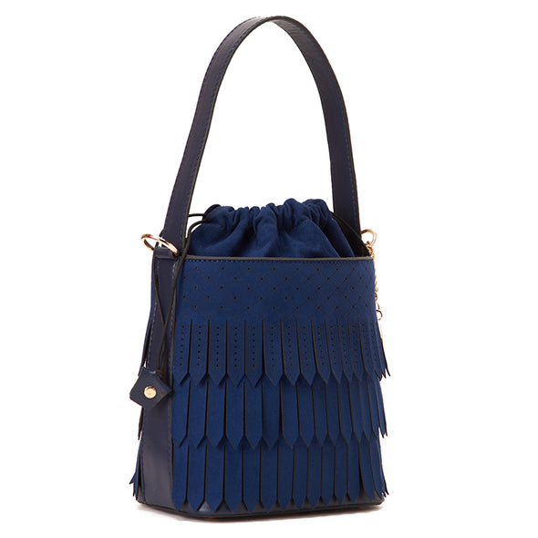 FRINGE BUCKET - NAVY