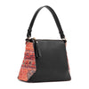 SORAYA CROSS BAG - PERSIAN x BLACK