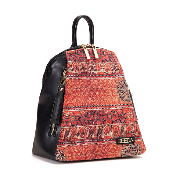 NAZLI BACKPACK - PERSIAN x BLACK