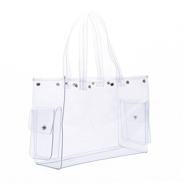 OCEANA See Through Bag - Green