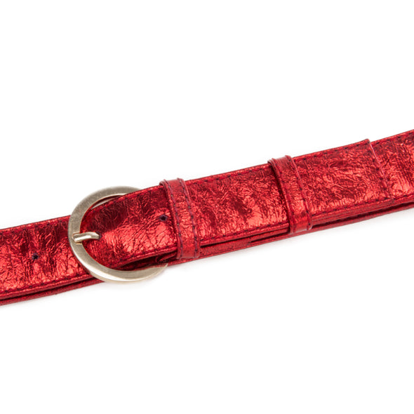 CRYSTAL Twin Belt  - RED