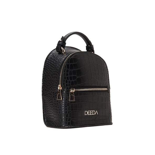 CROCO BELLA - BLACK