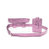 CRYSTAL Twin Belt  - PURPLE