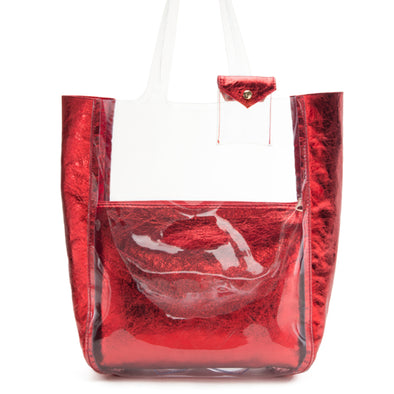 CRYSTAL SHOPPER - RED