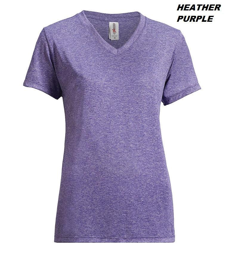 AF204 Women's Heather Performance Tee