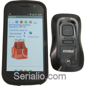 Scanfob CS3070 Bluetooth Laser Barcode Scanner