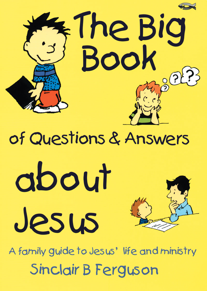 The Big Book of Questions and Answers About Jesus — Paperback