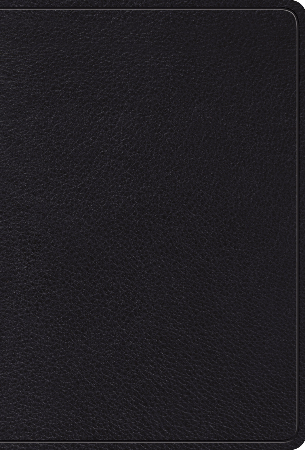 ESV Devotional Psalter — Top Grain Leather, Black