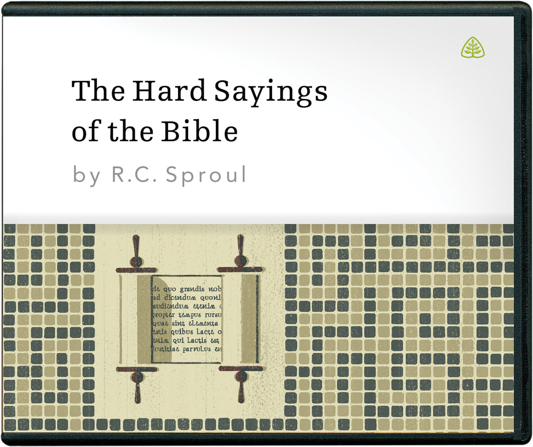 The Hard Sayings of the Bible — CD