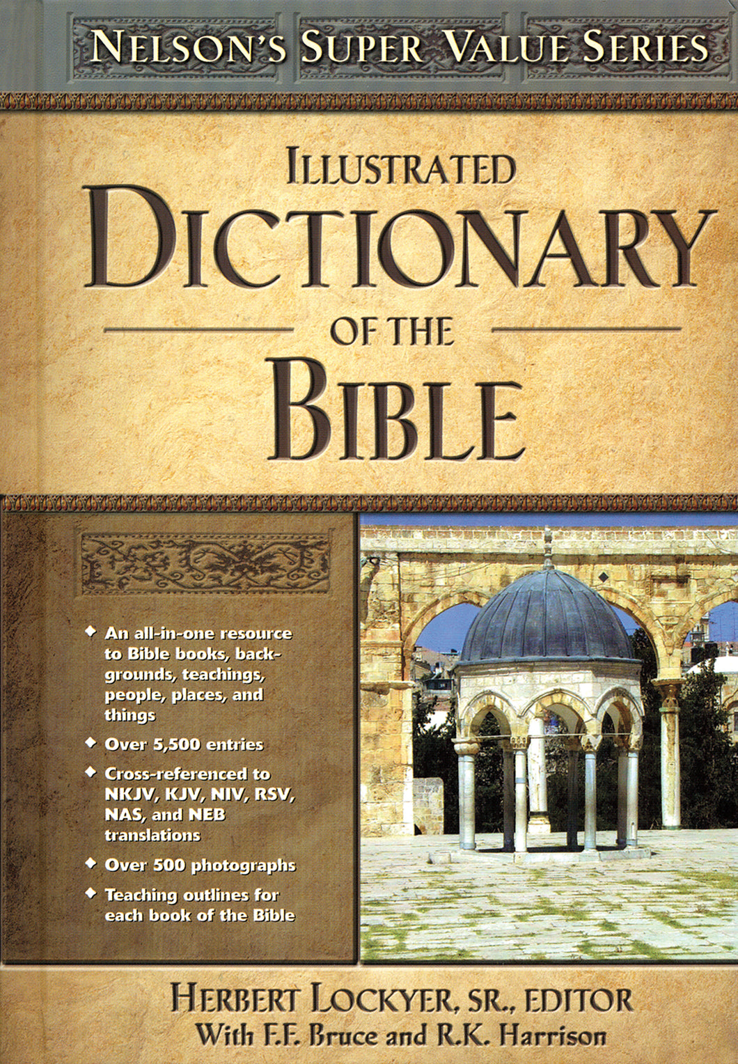 Illustrated Dictionary of the Bible — Hardcover