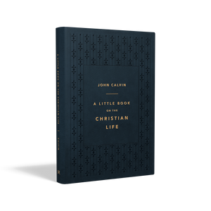 A Little Book on the Christian Life (Gift Edition) — Leather-Like Navy