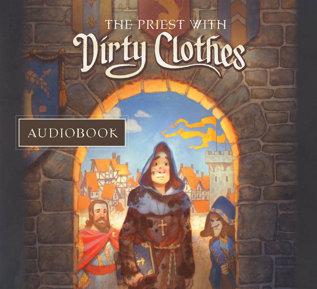 The Priest with Dirty Clothes — Audiobook CD