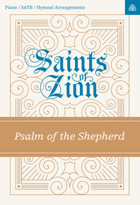Psalm of the Shepherd — Sheet Music SATB Digital  (1 License)