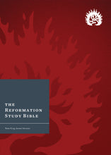 Load image into Gallery viewer, NKJV Reformation Study Bible — Hardcover Crimson