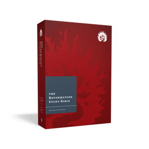 NKJV Reformation Study Bible — Hardcover Crimson