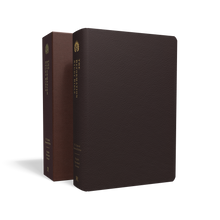 Load image into Gallery viewer, The Reformation Study Bible (ESV) — Seville Cowhide Burgundy