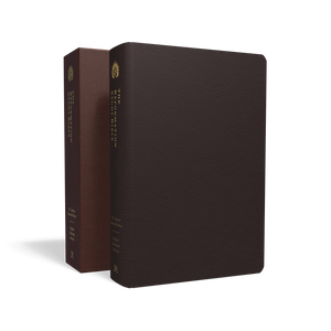 The Reformation Study Bible (ESV) — Seville Cowhide Burgundy