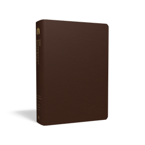 The Reformation Study Bible (ESV) — Premium Leather Brown
