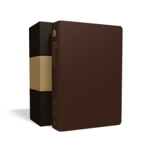 Load image into Gallery viewer, The Reformation Study Bible (ESV) — Premium Leather Brown