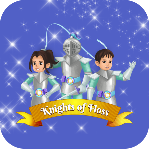 Three braves Knights who make up the Knights of Floss. The Knights are an order in the service of the Kingdom of Brushalot. They are tasked with ensuring the tooth cleanliness of the Kingdom as well as defending teeth from Prince Plaque.
