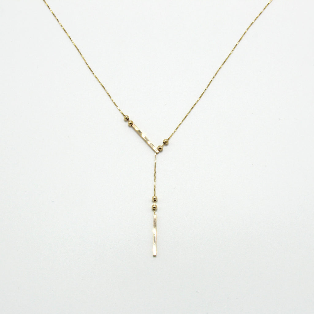 SLIDING GRAVITAS NECKLACE