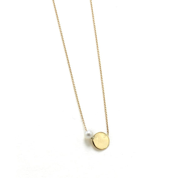 Sliding Lunita Necklace