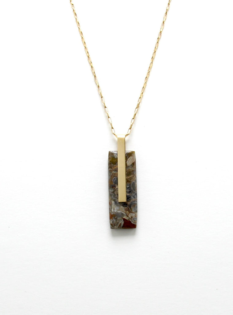 SOLA NECKLACE / MULTICOLOR JASPER II