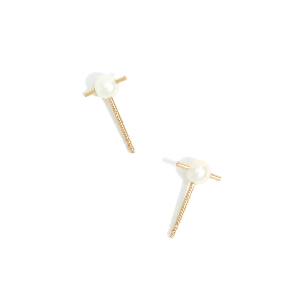 ORION SINGLE STUD / PEARL