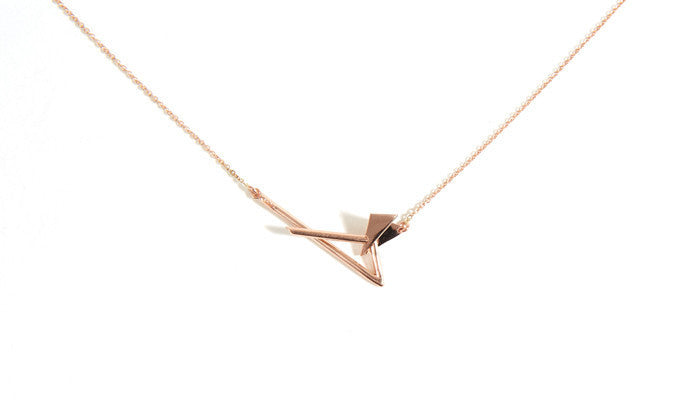 MINI FOLD CLASP NECKLACE